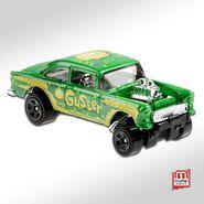 55 Chevy Bel Air Gasser (V) Mattel Games 4 - 21 IDG