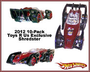 2012 10-Pack Toys R Us Exclusive Shredster
