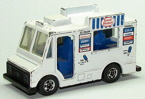Clear 1:64 Water Slide Decal Hot Wheels Ice Cream Truck Quick Bite I SCREAM