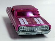 64 Impala. Pink Spectrafrost. Cool Classics. frontvue