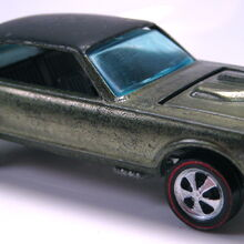 Custom Cougar Olive with black roof.JPG