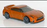 17' Nissan GT-R (3572) HW L1150930