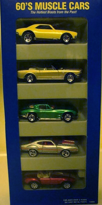 '60's Muscle Cars 5-Pack