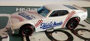 HW 71 MUSTANG FUNNY CAR Sports 5pack WHITE