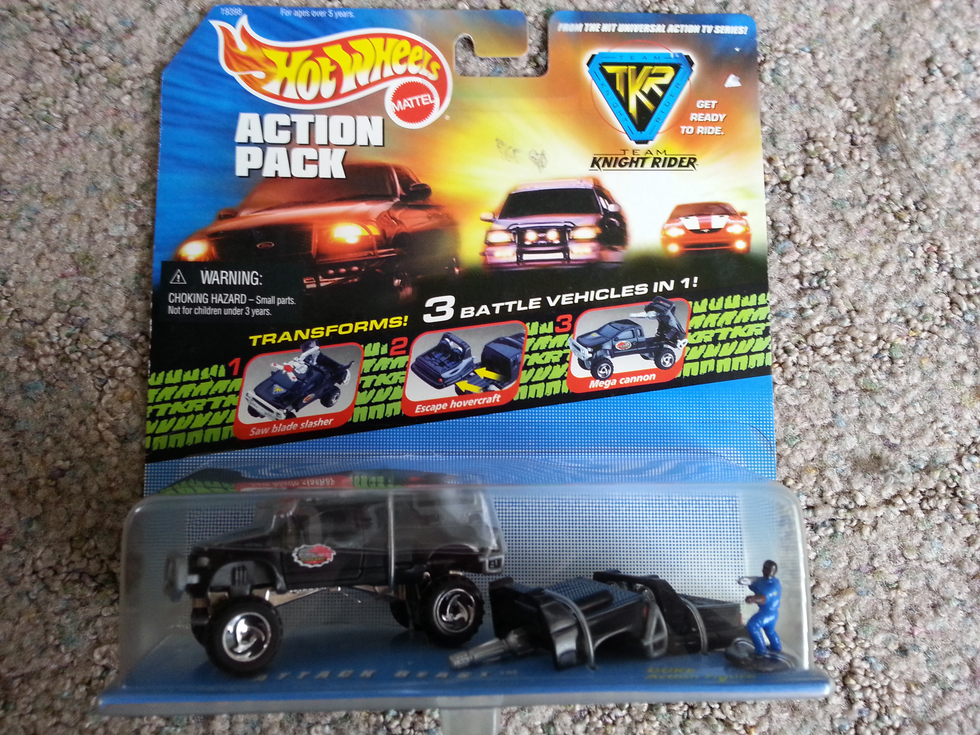 Team Knight Rider: Attack Beast Action Pack