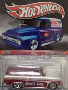 Delivery 2010 Slick Rides 34-34 '64 GMC Panel 'Quaker State' Red