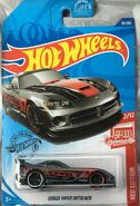Hot Wheels 2020 Dodge Viper SRT10 ACR Red Edition