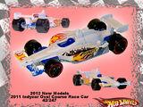 2011 IndyCar Oval Course Race Car