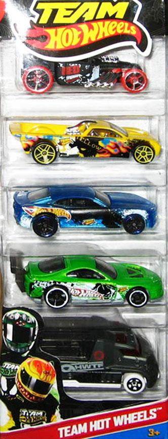 Team Hot Wheels 5-Pack