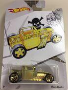Bone Shaker. Larry Wood50. Frost Gold. Card