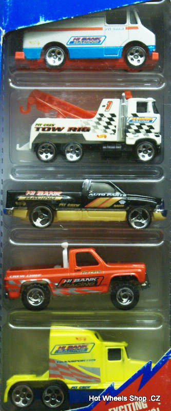 Race Team Crew 5-Pack