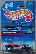 1999 Hot Wheels Rigor Motor 1052 red