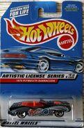 Hot Wheels 1970 Plymouth Barracuda Artistic License Series