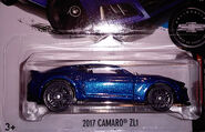 2017 Camaro ZL1 Camaro Fifty Blue
