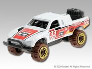 2021 Red Edition Toyota Off-Road Truck
