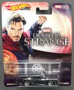Dr Strange Huracan Coupe Card