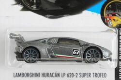 LAMBORGHINI HURACAN LP 620-2 SUPER TROFEO Hot Wheels lot of THREE different