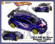 2012 HW All Stars Megane Trophy 122-247