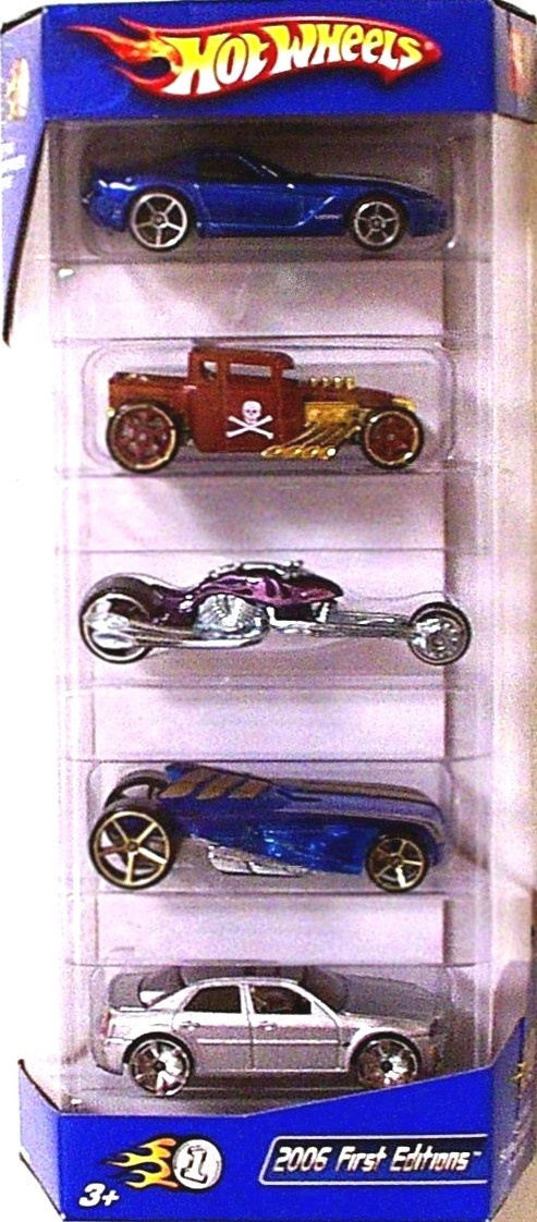 2006 First Editions 5-Pack
