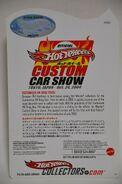 2004 Japan Custom Car Show Drag Truck card back