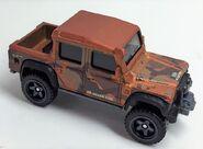 Land Rover. Frost Orange. Topvue