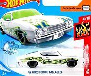 2019 Hot Wheels '69 Ford Torino Talladega 2nd color