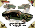 2012 New Models 73 Pontiac Firebird