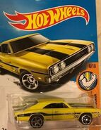 2017 Muscle Mania 06-10 095-365 '69 Dodge Charger 500 -Mooneyes- Yellow