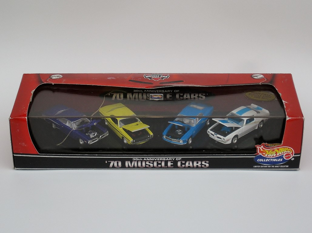 30th Anniversary of '70 Muscle Cars 4-Car Set