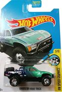 Toyota OFF-Road Truck - DTX61 Card
