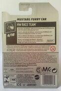 (R) Mustang Funny Car 2019 HW Race Team 4-10 212-250