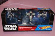 Star Wars Villain Starship 4-Pack (DGN56) (pack)