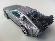 Back to the Future Time Machine rear