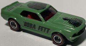 Green custom mustang