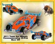 2011 Team Hot Wheels Commemorative 20-Pack Buzz Off