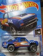 87 Dodge D100 Matte Blue