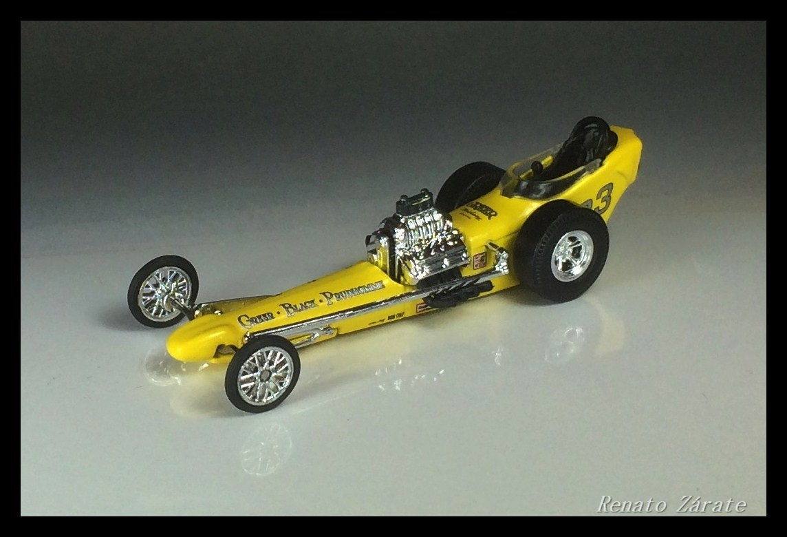 '60s 'Full Body' Dragster