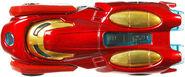 BDM74 Hot Wheels Marvel Character Cars - Iron Man Marvel Cars Iron Man XXX 1