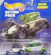 Hot wheels action packs scum chums