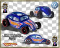 2012 HW Racing Custom VolksWagen Beetle 176-247