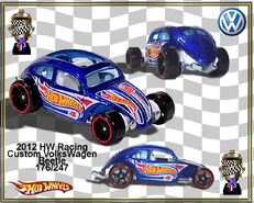 2012 HW Racing Custom VolksWagen Beetle 176-247