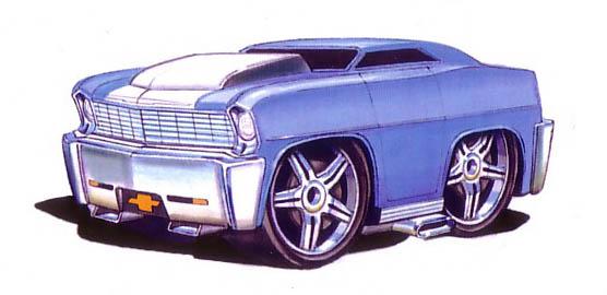 '67 Chevy II (Blings)