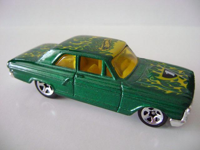 Flamin' Hot Wheels Series (2003)