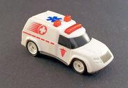 1994 Hot Wheels Ambulance-White