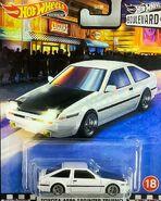 Hot Wheels Boulevard 2020 Toyota AE86