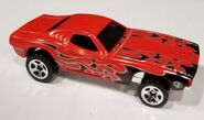 70 Dodge Challenger Red black tampo