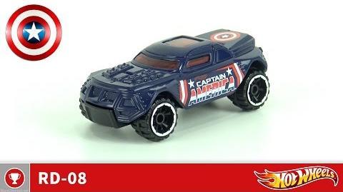 Hot Wheels - RD-08 - Captain America (4K UHD)