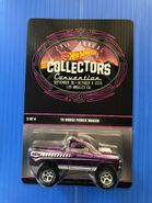Hot wheels '70 Dodge Power Wagon 29th collectors convention carded