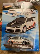 HW VW SCIROCCO GT24 white -SPEED MACHINE-