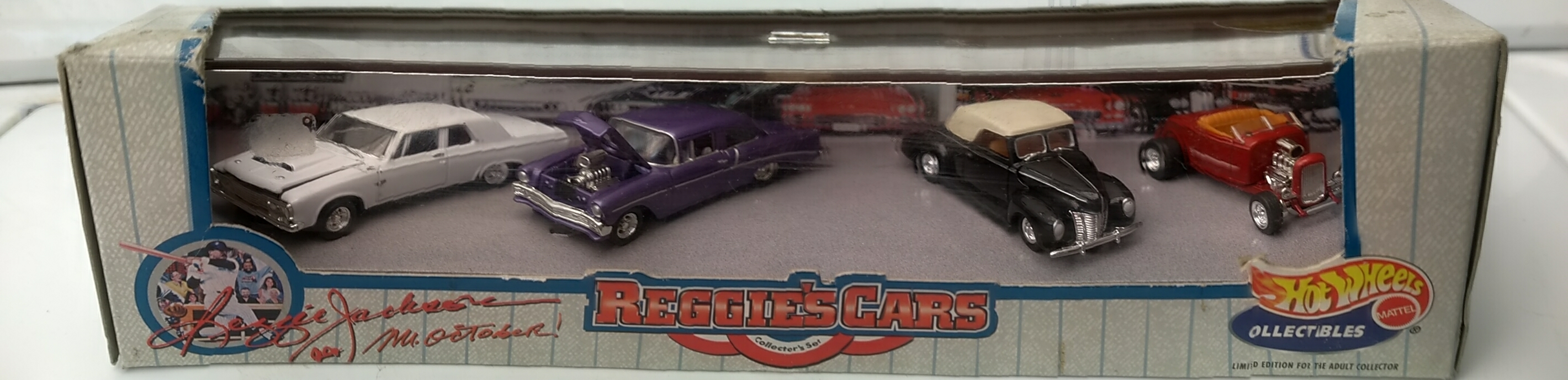 Reggie's Cars 4-Car Set